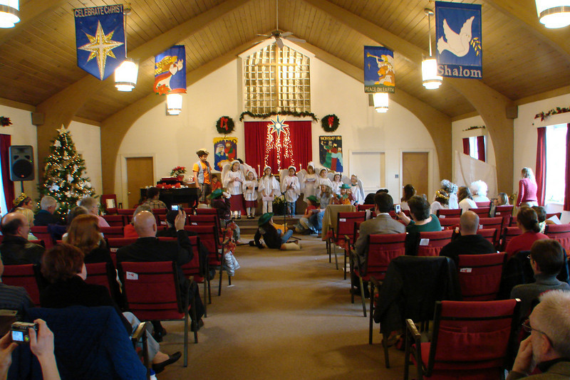 Youth leading our Christmas Worship