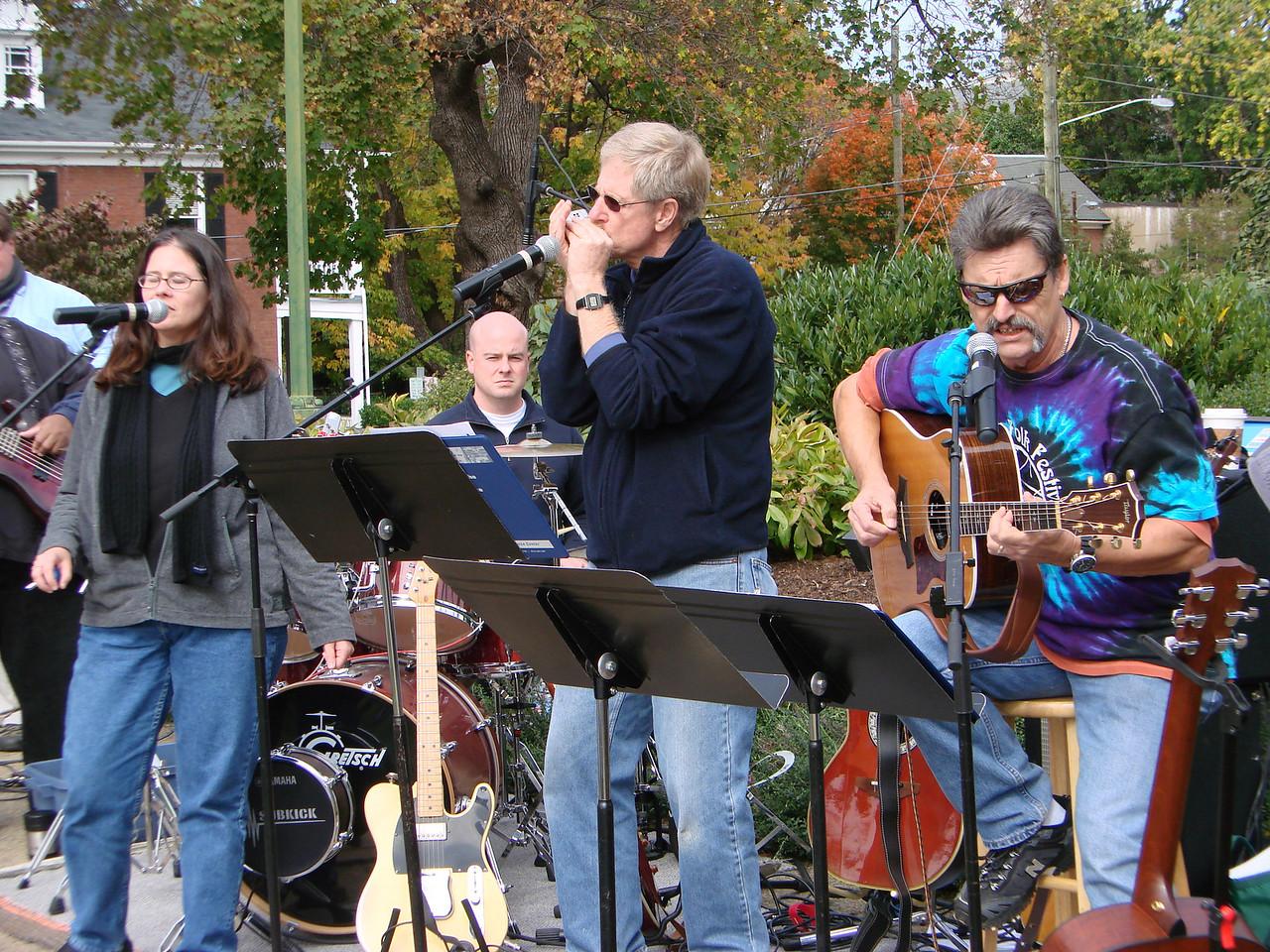 Park Street Christian Church Praise Band share their gift of music
