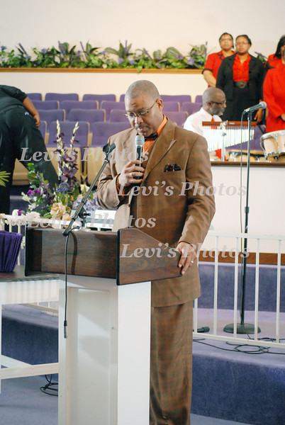 Pastor J.A.Reed 50 Years  at Fairview