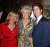 Sharon Bush, Diane Bernhard and Pastor Joel Osteen