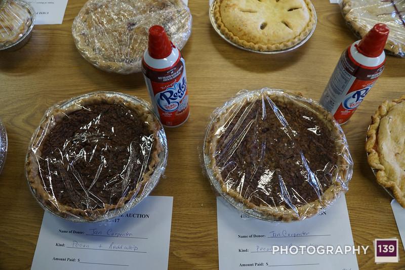 Methodist Men Pie Auction