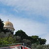 The Shrine of the Bab can be seen from almost anywhere in Haifa