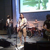 "Jon Playing Bass on Left <br /> ""Pocket Full of Rock""<br /> <br /> MotoRIZR."