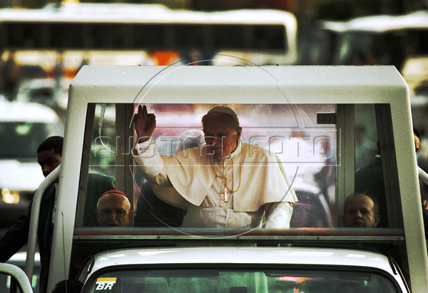 Pope John Paul II in Rio de Janeiro