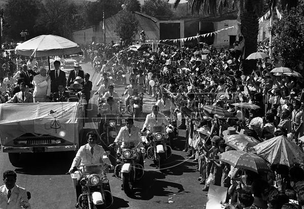 Pope John Paul II in Mexico