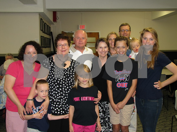 Father Jim McAlpin's family attended the Priest Jubilee Celebration at Holy Trinity Parish.