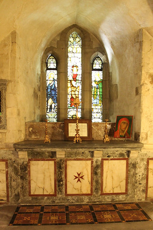 South Altar in the Crypt of the Priory Church of St John. 23 May 2012