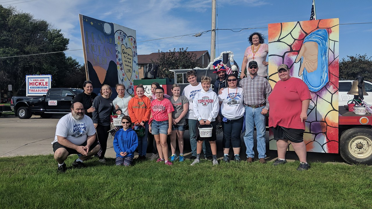 Pufferbilly Days Float - 2018