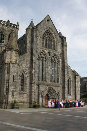 RSCM Scottish Voices at Paisley Abbey - 31 May 2014