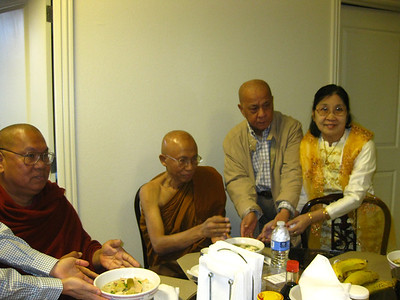 Re-ordination&enshining of Buddha