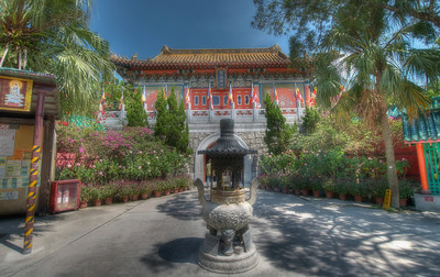 Po Lin Monastery, Lantau Island, Hong Kong. One of the most important Buddhist sanctums in Hong Kong. On a brief layover (for 5 hours) in Hong Kong, hopped out of the airport to visit this beautiful island of Lantau and its Buddhist jewel set among mountains