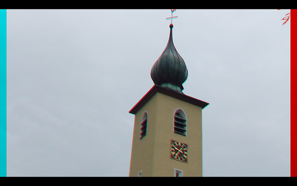 Churches of Europe in Anaglyph Stereo with the Fugi Finepix W3 Stereo Camera