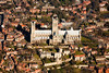 Aerial photo Lincoln Cathedral.