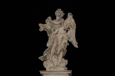 Bernini Angel--Rome, Italy