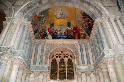 St. Mark`s Portal--Venice, Italy