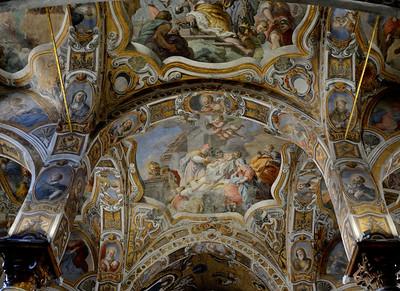 St. Maria Dell`Ammiraglio (Ceiling Detail)--Palermo, Sicily