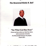 The Honoree-Rev. Rickie Bell