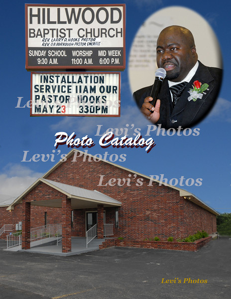 Rev. Larry D. Hooks Installation