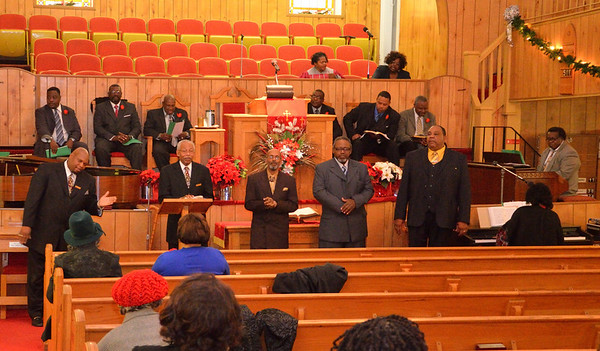 Rev Pettaway 35th Pastor Anniversary 12/8/2013
