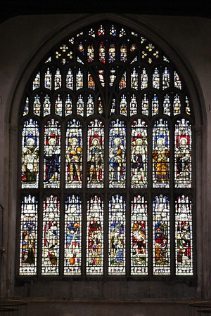 West Window of Rochester Cathedral