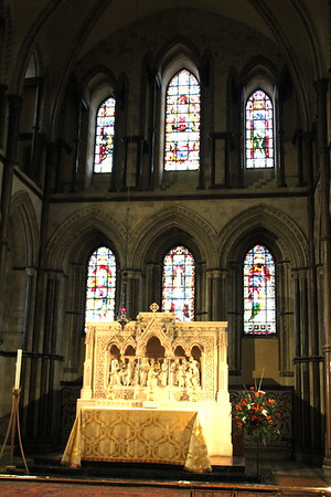 High Altar and East Window of Rochester Cathedral