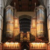 Rochester Cathedral organ from the chancel