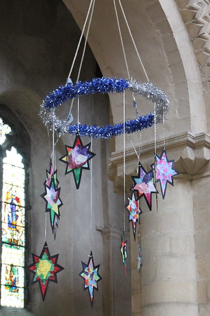 Christmas Mobile at Rochester Cathedral