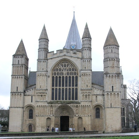 West End of Rochester Cathedral