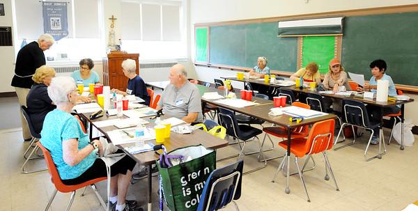 SENIOR CITIZENS  ART CLASS=07/28/14