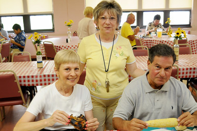 ST. ELIZABETH ANN SETON PARISH CHICKEN BAR B QUE, ABSECON NJ. 07/21/13