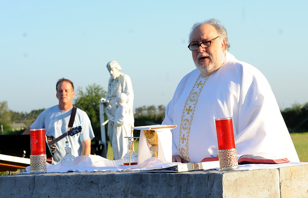 ST. PADRE PIO , VINELAND NJ. OUTDOOR FARM WORKERS/OWNERS MASS 06/02/13