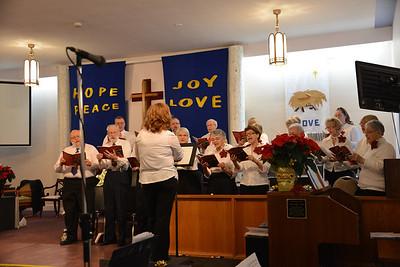 Stittsville United Church Choir Dec 2013