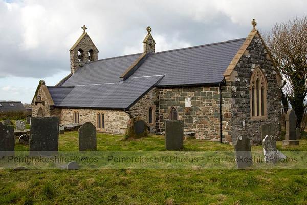 St Gwyndaf's, Llanwnda.