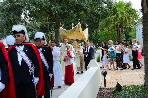 Scenes from Corpus Christi Church June 22 2014