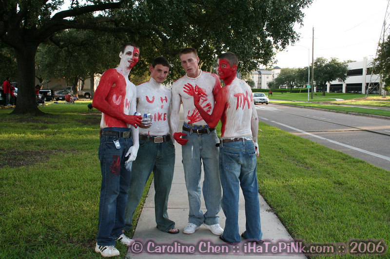 Some crazy UH football fans.