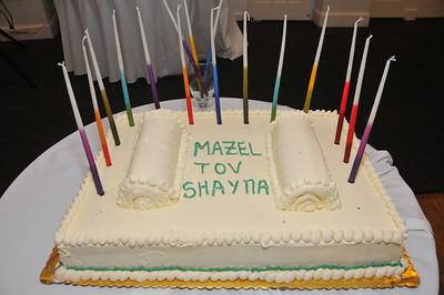 Shayna's Bat Mitzvah Photos 9-29-12