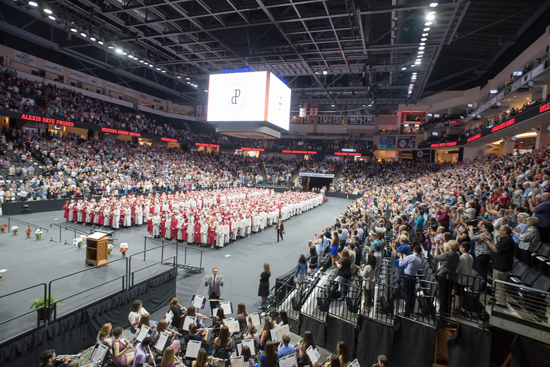 A Crowd of thousands, including the Band, were on hand to see The Reverend Gordon Camp and wife Mrs. Pastor Cindy Camp off on their new adventure.