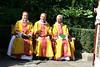 Preacher (Canon Treasurer), Celebrant (Sub Dean) and Deacon (Canon Missioner) on bench
