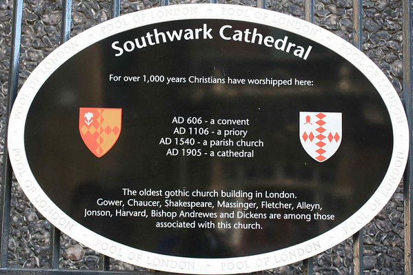 Southwark Cathedral<br /> 23 August 2009