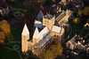 A stock aerial photo of Southwell Minster in Nottinghamshire
