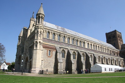 Cathedral and Abbey Church of St Alban 8 April 2017