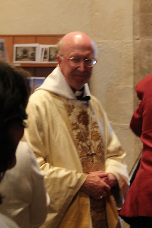 Right Rev John Pritchard, Lord Bishop of Oxford at St Andrew's Headington. 15 July 2011