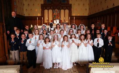 St. Augustine Catholic Church First Communion Class 2016