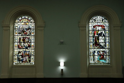 Stained Glass Windows in the South Gallery