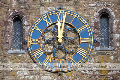 Clock, St David's Cathedral