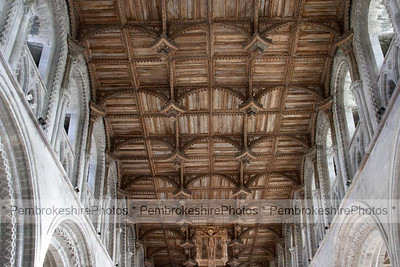 Ceiling,The Nave,St David's Cathedral
