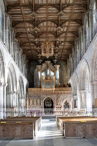 The Nave,St David's Cathedral