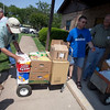 on May 20, 2013 at St. Frances Cabrini Parish in Granbury. After an EF-4 tornado swept through the city last week, the parish community pulled together to provide an emergency shelter, a long-term shelter, and a donation center for those affected by the storms.(Special contributor/ Juan Guajardo)