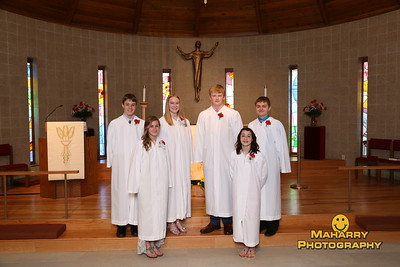St. James  Confirmation Class of 2015