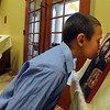 """Donovan Boyd kisses an icon at the St. Luke Orthodox Christian Church in Erie.<br /> For more photos of the church, go to  <a href=""""http://www.dailycamera.com"""">http://www.dailycamera.com</a>.<br /> Cliff Grassmick / September 5, 2010"""